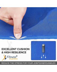 EVA Dual Tone with Carrying Strap Blue 6 mm Yoga Mat
