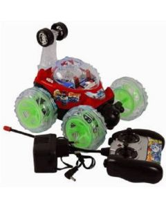 Hamleys Rechargeable Remote Controlled Stunt Car  (Multicolor)