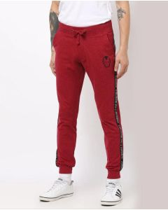 Printed Men Red Track/Jogger Pant