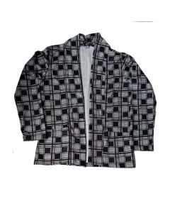 Black Checks shrug