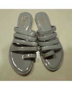 Women Flat Sandal - Grey
