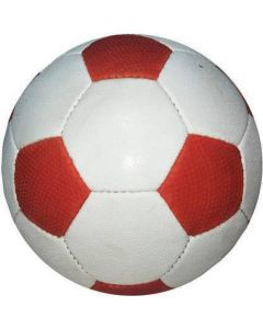 Football white and red for kids