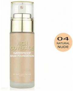 Swiss Beauty Foundation (High Coverage) Natural Nude Foundation  (Natural Nude, 50 ml)