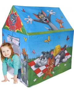 Tom and jerry tent house