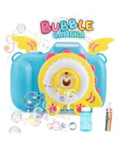 Camera shaped Bubble Blower light and music for kids