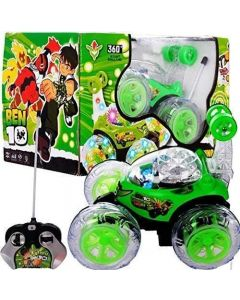 BEN-10 Rechargeable Remote Control 360 Degree Rotating Stunt CAR for Kids