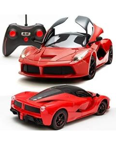 Super Remote Control Car, Rechargeable, Opening Doors, Red Color