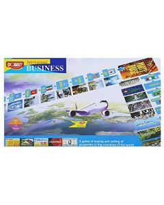 Business International Board Game by Dolly for Kids 2-6 Players Banking Board Game