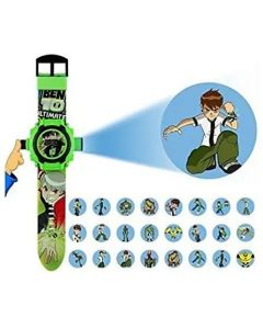 BEN 10 OMNIVERSE AUTOMATIC PROJECTOR 24 GRIDS Best Digital Toy Watch for Boys