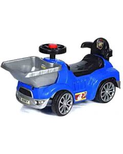 OOGA Rider Push Car with Front Basket, Horn and Music for Kids