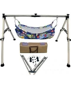 Best Indian Style Stainless Steel Square Ghodiyu (Cradle) New Born Babies