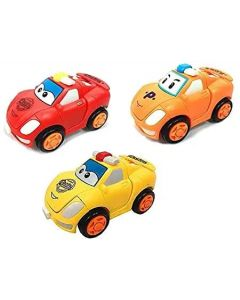 TRANSFORMABLE Toy Racing CAR with ONE Button Convert from CAR to Robot for Kids