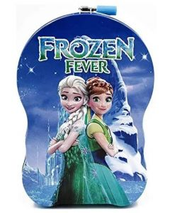 Frozen Fever Money Piggy Bank with Lock and Key for kids