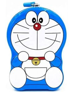 Doreamon Money Piggy Bank with Lock and Key for kids